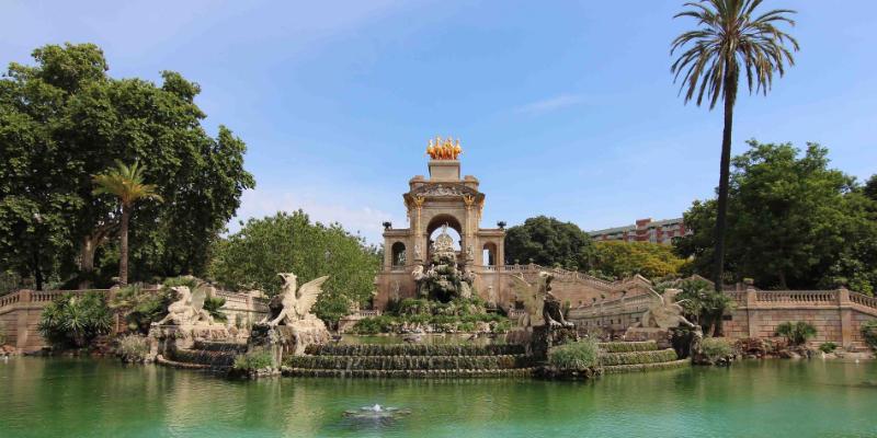 Parc de la ciutadella Barcelona
