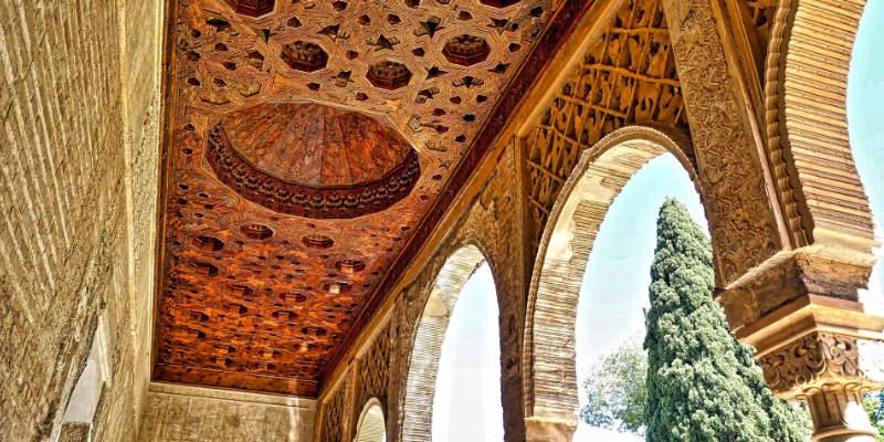 Het Alhambra in Spanje