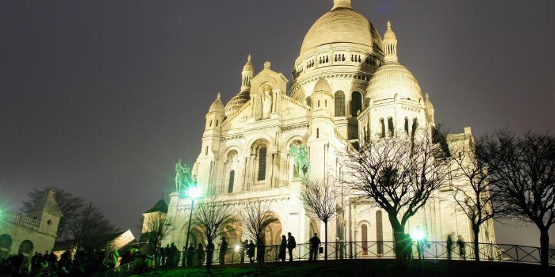 Het Sacre Coeur en Montmartre