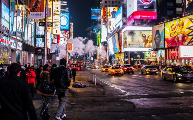 rondwandelen in New York