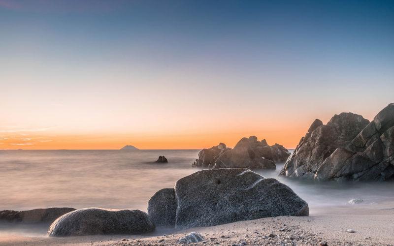 Mooiste stranden van Italië - grotticelle stromboli