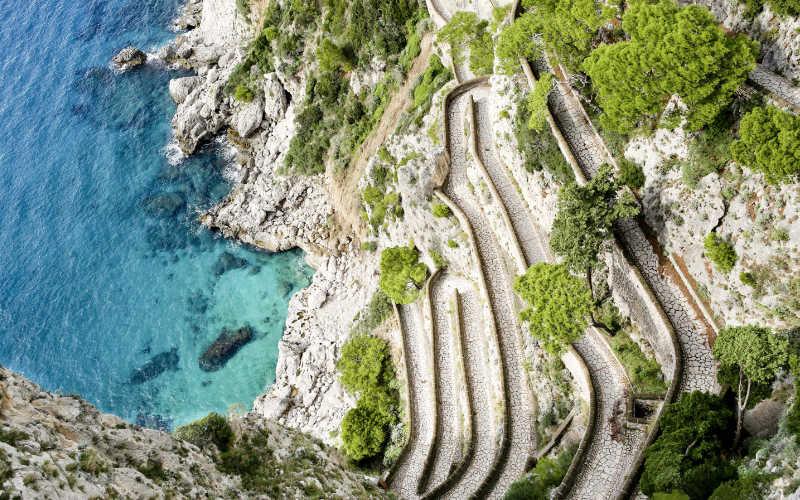 capri eilanden via krupp