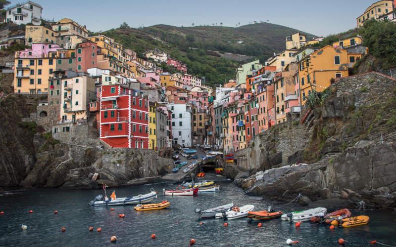 Mooiste stranden van Italië - Cinque terre