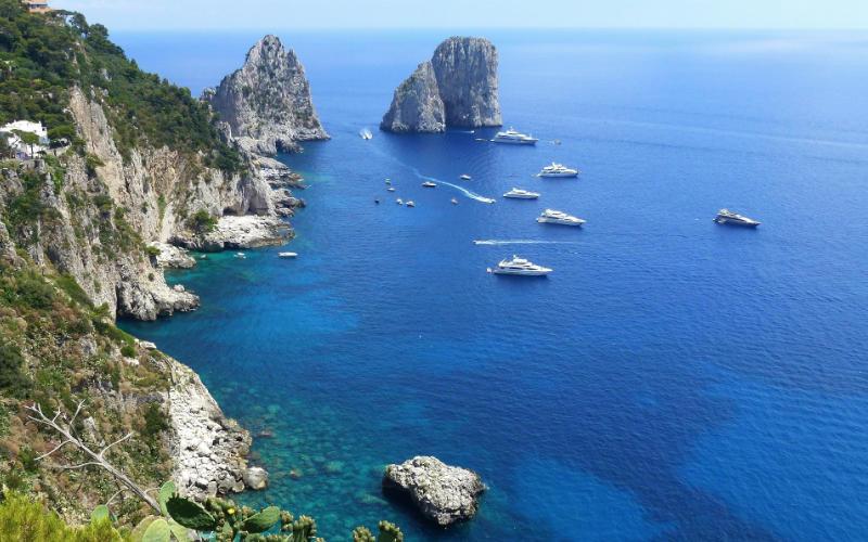 Mooiste stranden van Italië - Capri