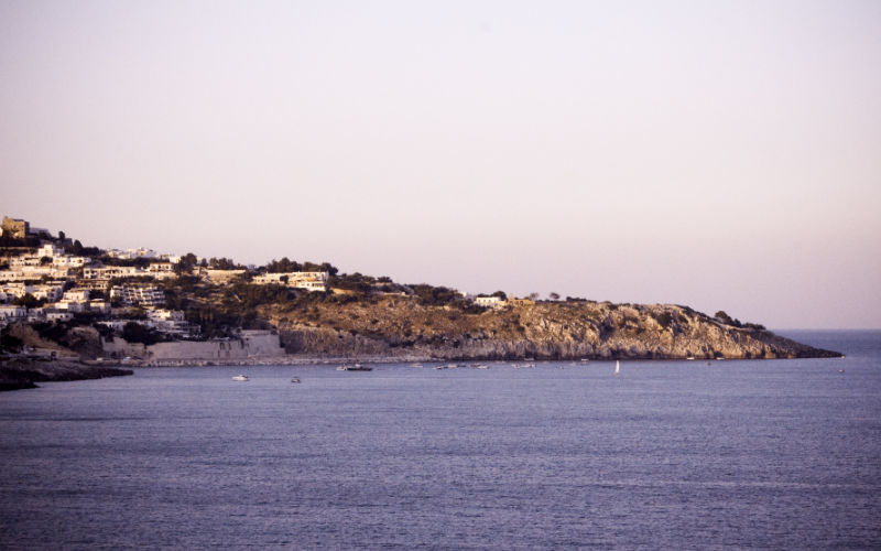 Otranto strand italië