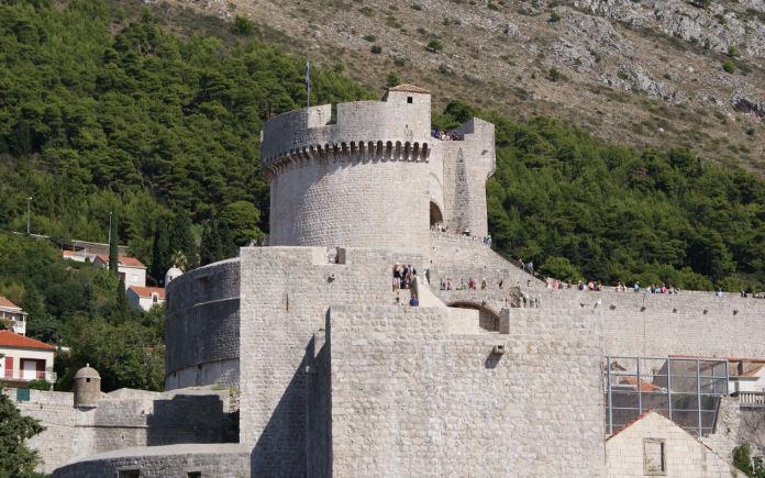 Fort Minceta Kroatie bezienswaardigheden Dubrovnik