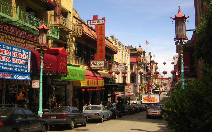 San Francisco bezienswaardigheden Chinatown