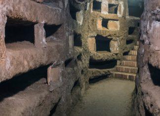 De catacomben van Rome bezoeken