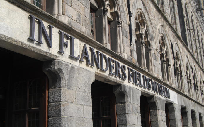In Flanders fields museum Ieper