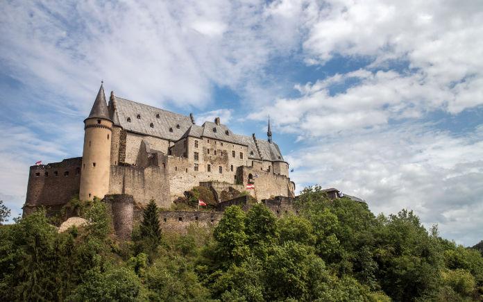 Bezienswaardigheden Luxemburg Kasteel Vianden