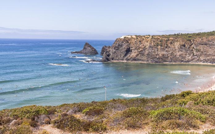 Odeceixe strand portugal