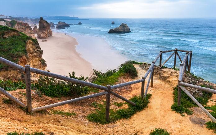Praia da Rocha Algarve strand