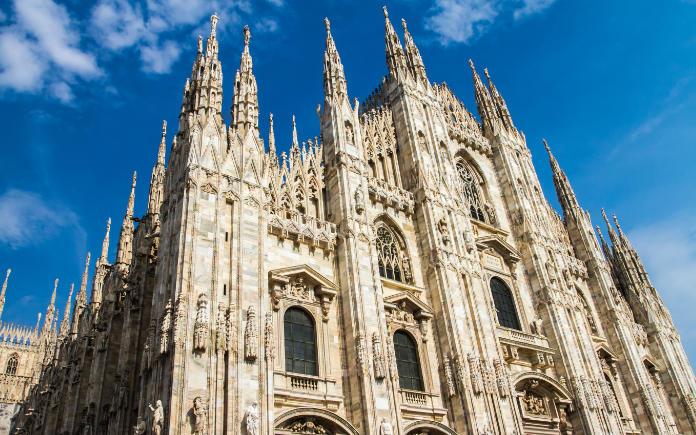 Dom van Milaan, bezienswaardigheden vlakbij Gardameer