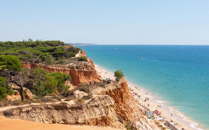 Praia da Rocha Algarve strand bezienswaardigheden
