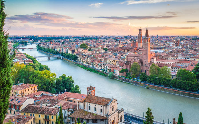 Verona Italië gardameer