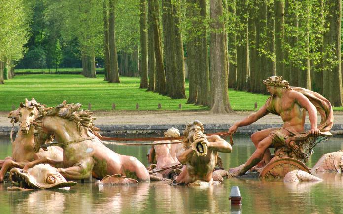 Apollo fontein in het kasteel van Versailles