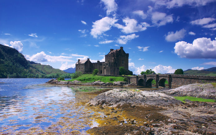 Eilean Donan kasteel van Schotland