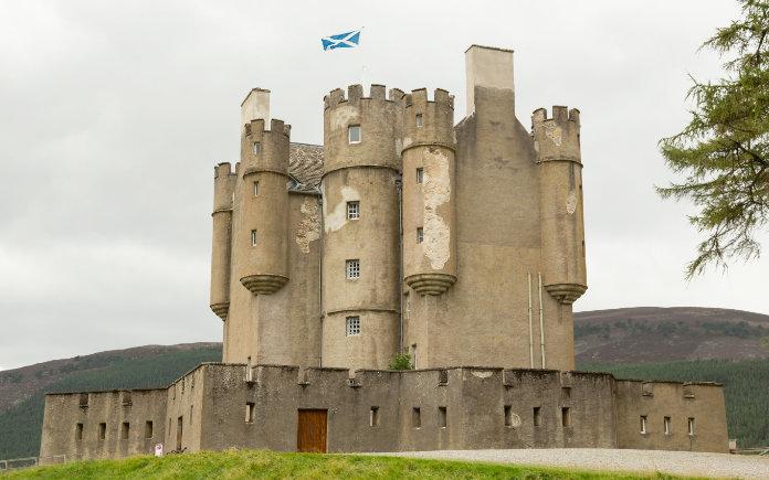 Braemar castle kastelen schotland