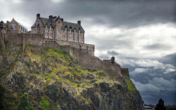Edinburgh Castle kastelen Schotland