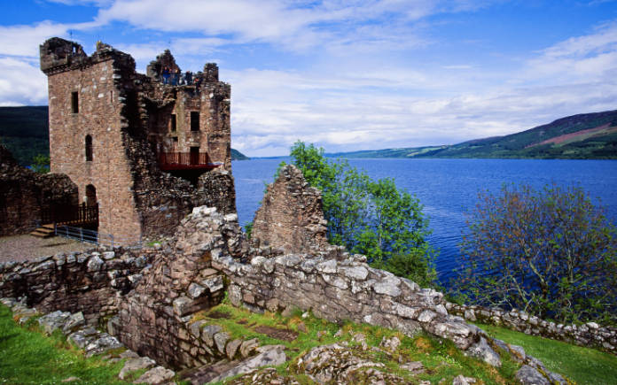 kastelen schotland urquhart kasteel