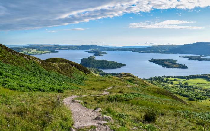 Loch Lomond schotland whisky trail