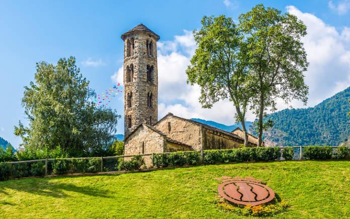 Santa Coloma bezienswaardigheden omgeving Andorra