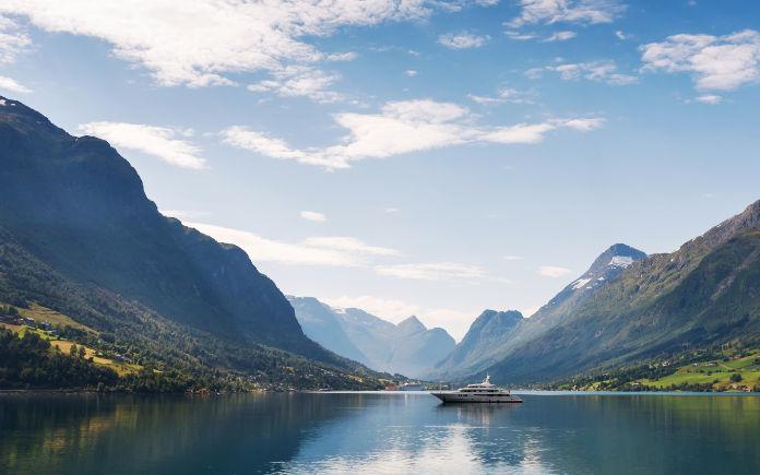 Fjorden Noorwegen Nordfjord