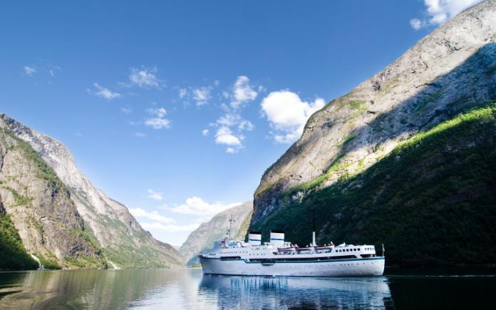 Sognefjord Noorse fjorden