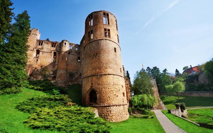 Beaufort kasteel van Luxemburg
