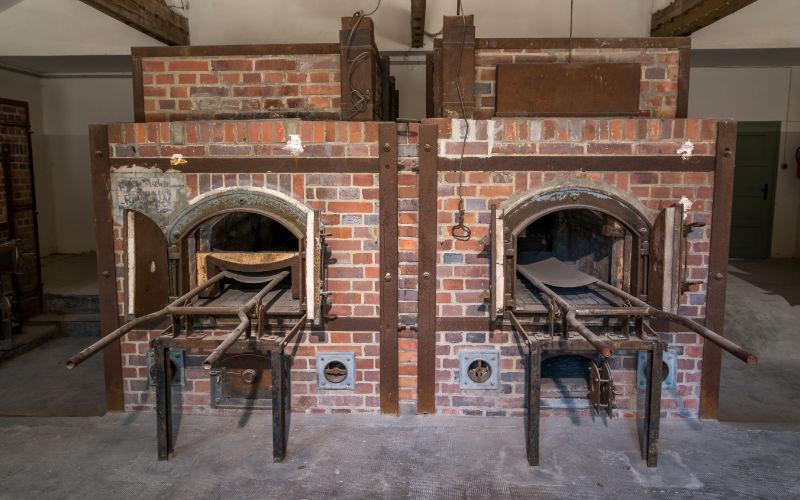 dachau crematorium concentratiekamp