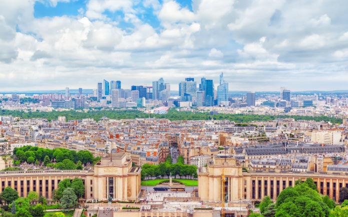 Eiffeltoren bezoeken uitzicht