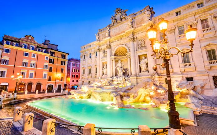 dingen om te doen in rome trevi fontein