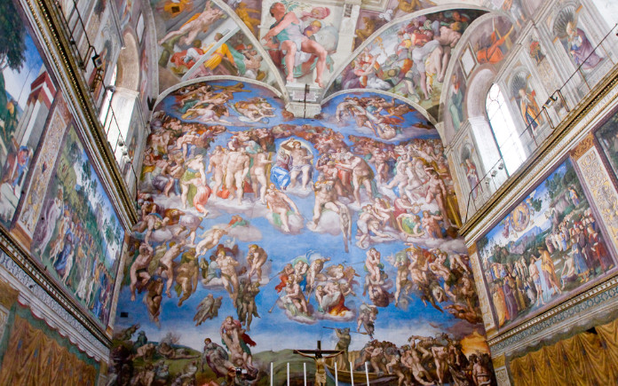 sixtijnse kapel bezienswaardigheden rome