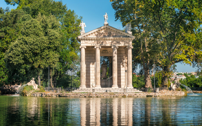 villa borghese wat te doen in rome