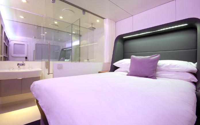 Yotelair Amsterdam Schiphol transit hotel park sleep fly