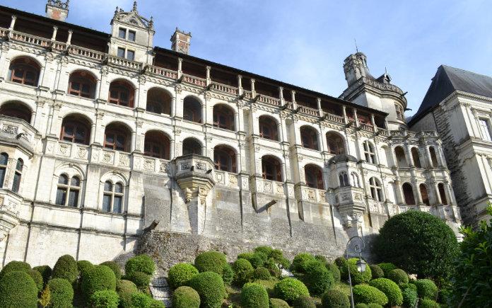 Chateau de blois kastelen loirevallei