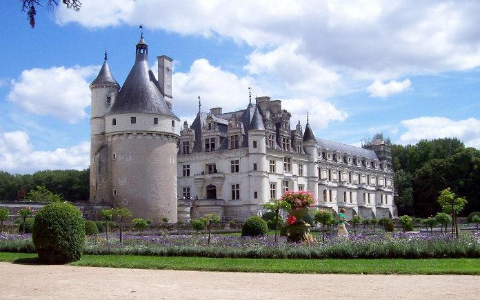 kastelen van de loire chenonceau
