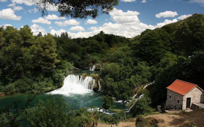 Krka watervallen bezoeken