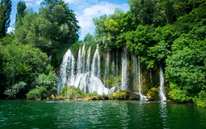 Roski Slap krka watervallen