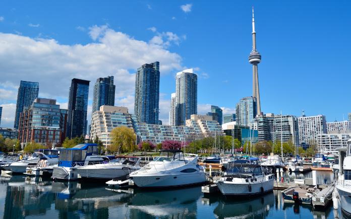 Toronto Canada huurauto