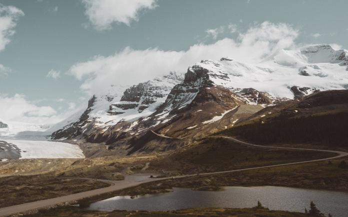 canada autohuur athabasca gletsjer