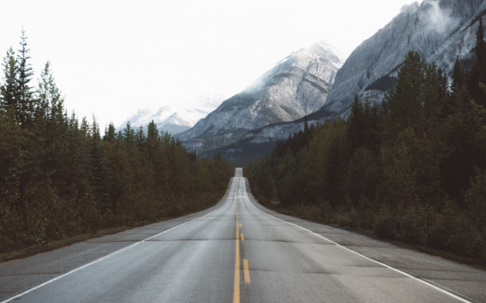 icefields Parkway Canada auto huren