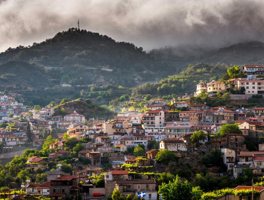 Agros Troodos gebergte Cyprus