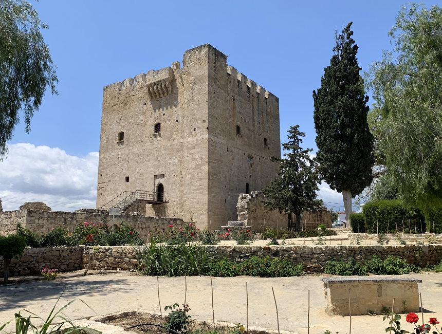 Kolossi kasteel hoogtepunten Cyprus