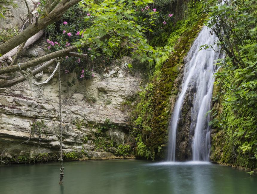 bezienswaardigheden Cyprus baden van Aphrodite