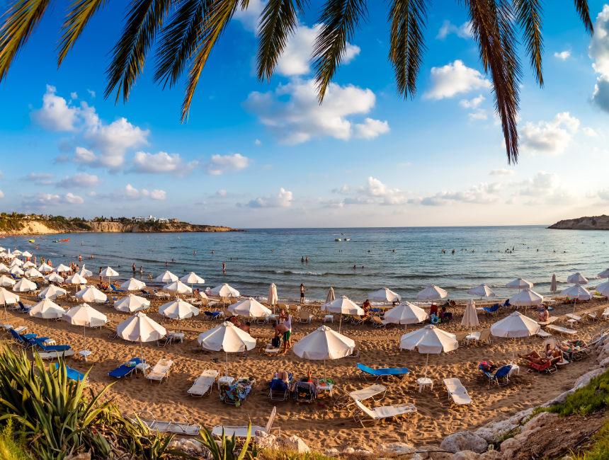 Peyia schiereiland Cyprus