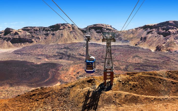 El Teide kabelbaan Tenerife bezienswaardigheden