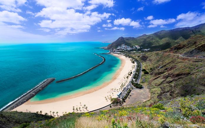 Playa de las Teresitas stranden Tenerife